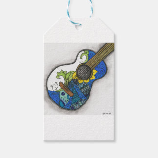 Guitar Pack Of Gift Tags