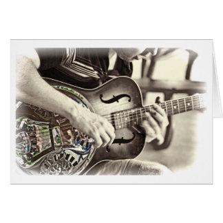Guitar Payer Card