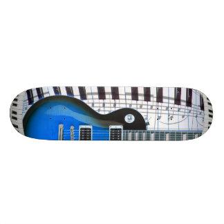 Guitar Piano Keyboard Skateboard Deck