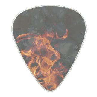 Guitar Pick - Flame