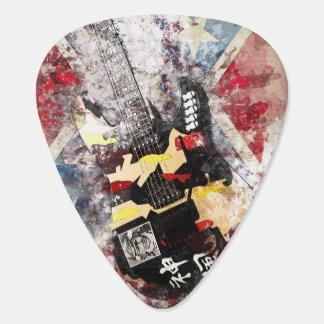 Guitar Pick- Grunge Guitar Design Guitar Pick