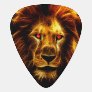 Guitar Pick - King of Lions
