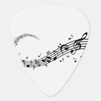 Guitar Pick- Music and Love Guitar Pick