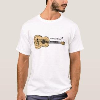 Guitar: Pick Your Brain T-Shirt