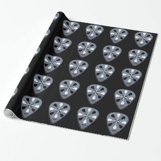 guitar picks black wrapping paper