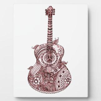 Guitar Plaque