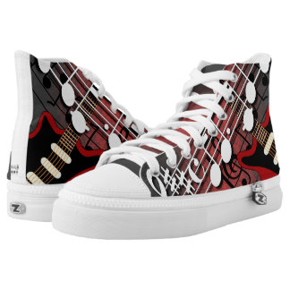 Guitar Player High Tops