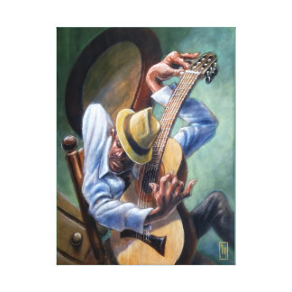 Guitar Player Music Art Print