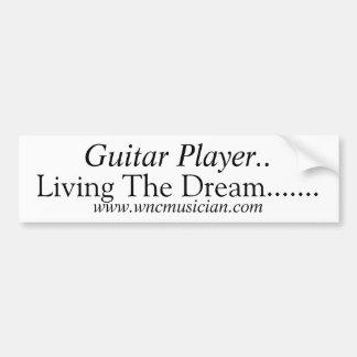Guitar Player Sticker