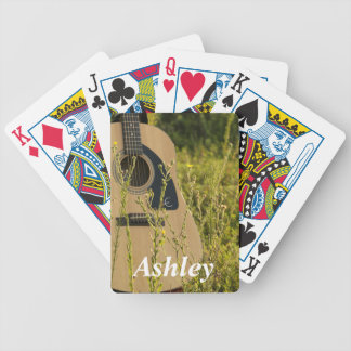 Guitar Playing Cards