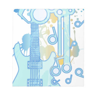 GUITAR-POP TUNES NOTEPADS