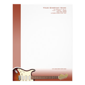 Guitar Pusher Letterhead