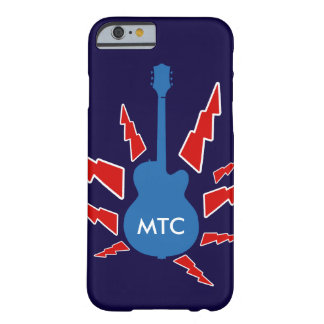 guitar rock personalized barely there iPhone 6 case