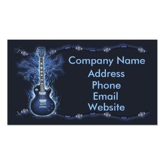 Guitar rocker business card