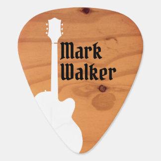 guitar rustic wood guitarist name guitarplayer's guitar pick