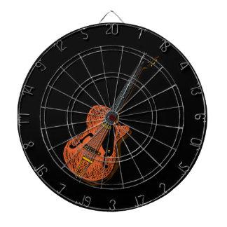 guitar semi hollow graphic brown.png dart board
