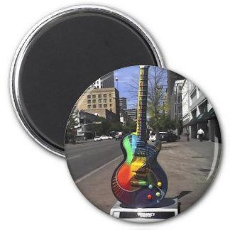 Guitar Series 2 Inch Round Magnet