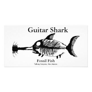 Guitar Shark Fossil Fish Photo Cards