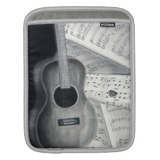 Guitar & Sheet Music iPad Sleeve