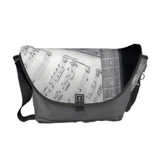Guitar & Sheet Music Messenger Bag