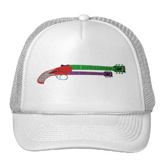 Guitar Shotgun Trucker Hat