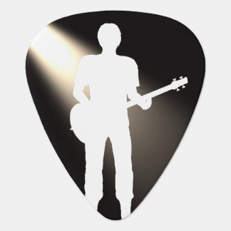 Guitar Siluhette for Guitar Picks