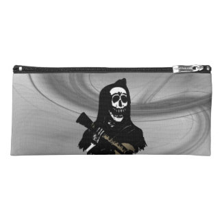 Guitar Skeleton Serenade Misty Eve Pencil Case