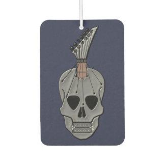 Guitar Skull Music Car Air Freshener