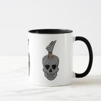 Guitar Skull Music Mug