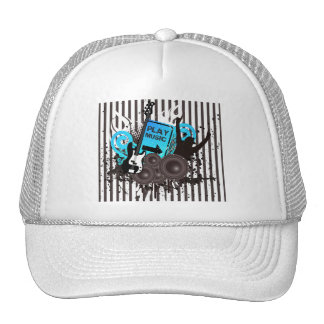 Guitar & Speakers Time To Party Trucker Hat