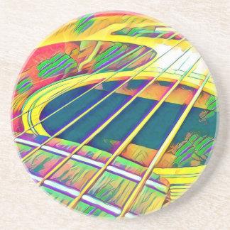 Guitar Strings Coaster