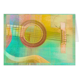 Guitar Study One 2016 Card