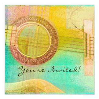Guitar Study One 2016 Card