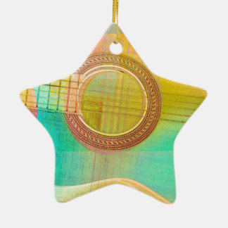Guitar Study One 2016 Ceramic Star Ornament