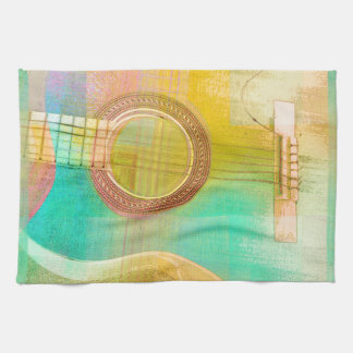 Guitar Study One 2016 Kitchen Towel