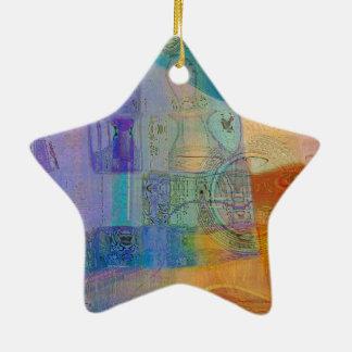 Guitar Study Three 2016 Ceramic Star Ornament