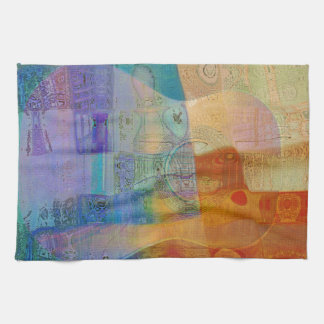Guitar Study Three 2016 Kitchen Towel