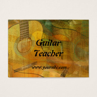 Guitar Study Two 2016 Business Card