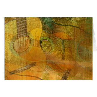 Guitar Study Two 2016 Card
