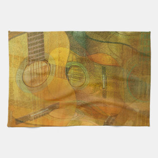 Guitar Study Two 2016 Kitchen Towel