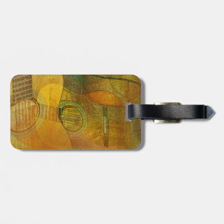 Guitar Study Two 2016 Luggage Tag