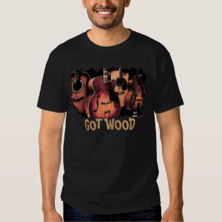 guitar-tee, GOT WOOD T-shirts