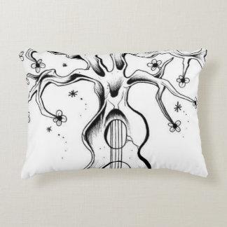 Guitar Tree Accent Pillow
