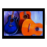 Guitar Trio Greeting Cards