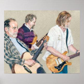 Guitar Trio Poster