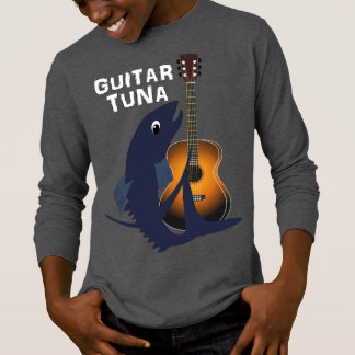 Guitar Tuna Funny Novelty Music Graphic T-Shirt