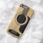 Guitare acoustique coque barely there iPhone 6