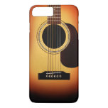 Guitare acoustique de rayon de soleil coque iPhone 7 plus