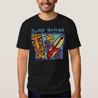 Guitare de surf : Tiki w/Torch et ketmie T-shirts