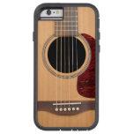 Guitares acoustique de ficelle de cuirassé six coque tough xtreme iPhone 6